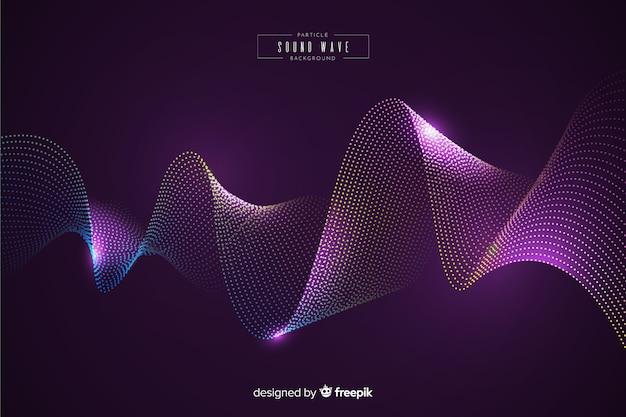 音の粒子波背景