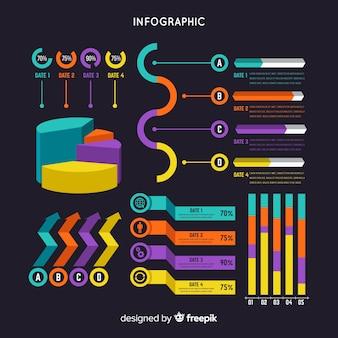 インフォグラフィックテンプレート