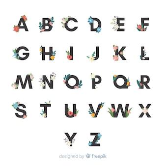 Цветочный алфавит