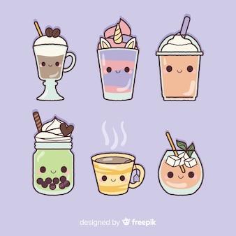 Плоская каваи пищевая коллекция