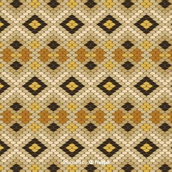 ヘビ皮パターン背景