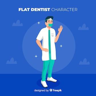 歯科医のキャラクター