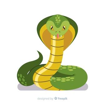 手描きコブラの背景