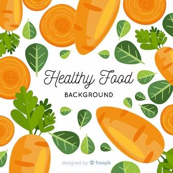 フラット健康食品の背景