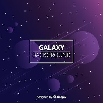 銀河の背景