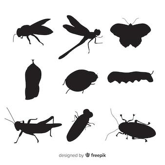昆虫シルエットコレクション