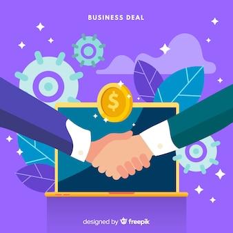 Плоская концепция коммерческой сделки