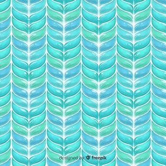 水彩ニットパターン背景
