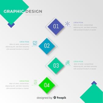 グラフィックデザインクリエイティブプロセス