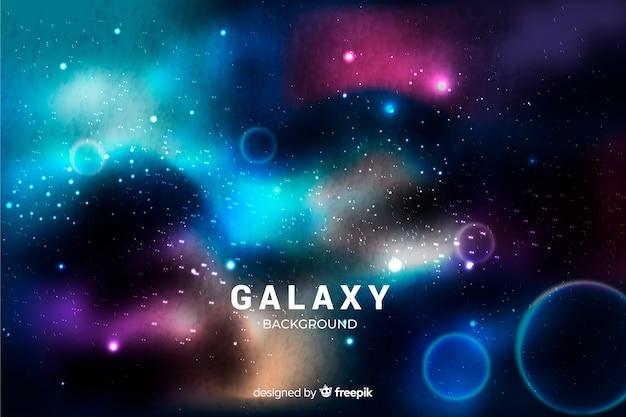 Реалистичная галактика фон