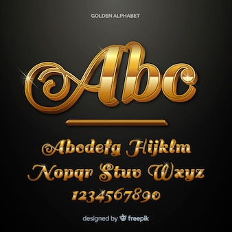 Золотой алфавит
