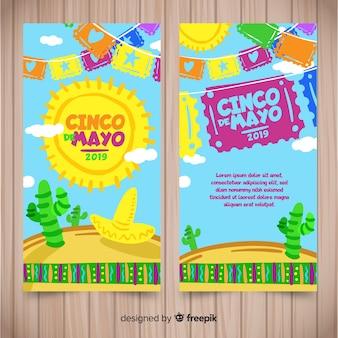 Синко де майо баннеры