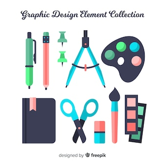グラフィックデザイン要素コレクション