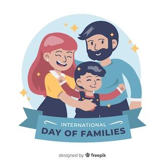 家族の国際的な日の背景