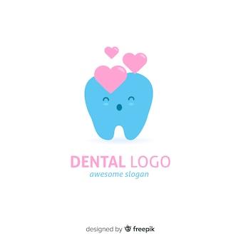 フラット歯科医院のロゴ