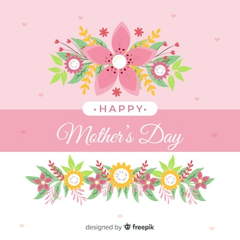 День матери цветочный фон