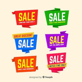 Оригами продажа баннеров