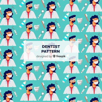 Плоский образец дантиста