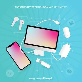 Антигравитационная технология с элементами