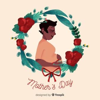 母の日の背景