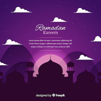 Рамадан фон