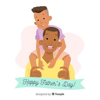 手描きの父の日の背景
