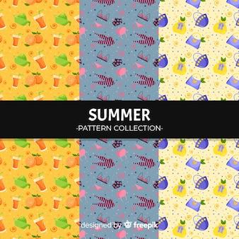 Красочный летний элемент рисунка