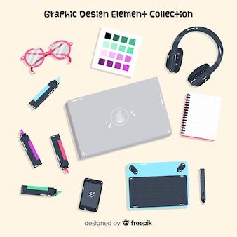 Коллекция элементов графического дизайна