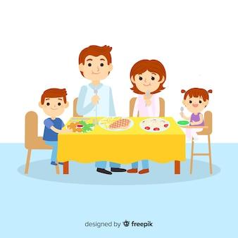 Еда семьи