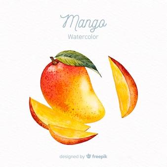Ручной обращается манго фон