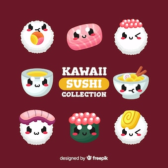 Каваи суши коллекция