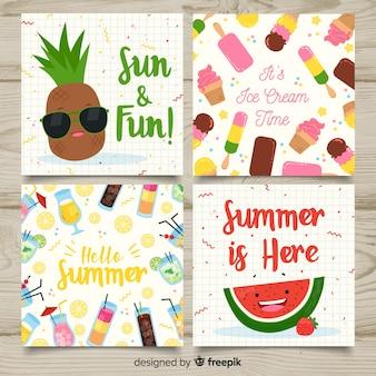 夏カードコレクション
