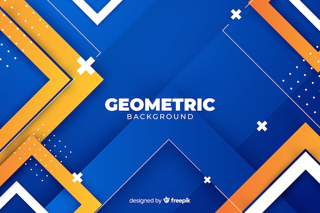 Градиент геометрических фигур фон