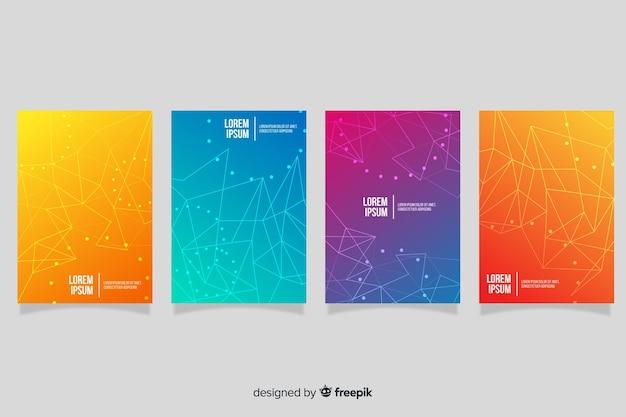 グラデーションテクノロジーパンフレットパック