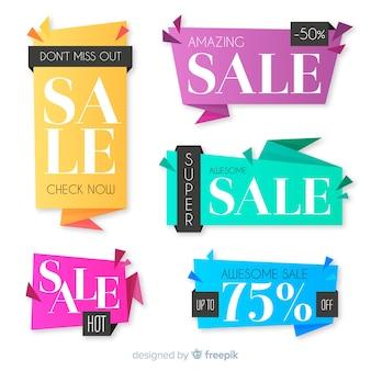 Продажа баннеров оригами