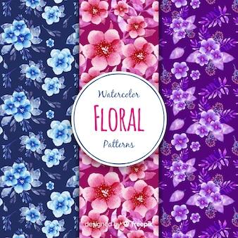 Коллекция цветочных узоров