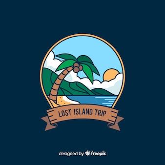 Приключенческий логотип