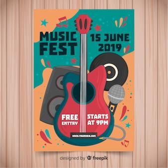 音楽祭のポスター