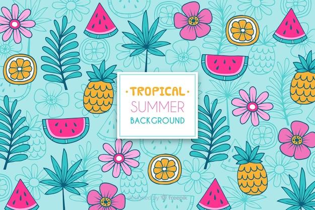 Тропическая картина