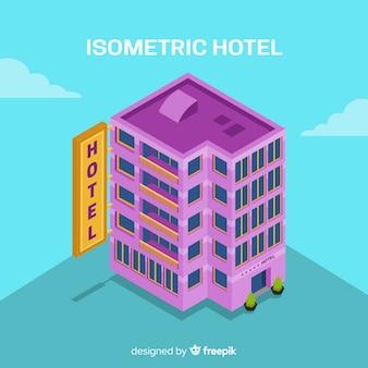 Изометрические здание гостиницы