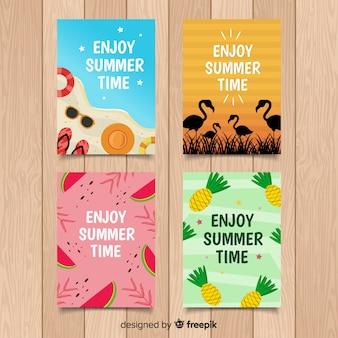Ручной обращается летние карты