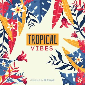 Тропический фон