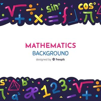 漫画の数学の背景