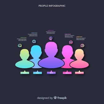 Люди инфографики