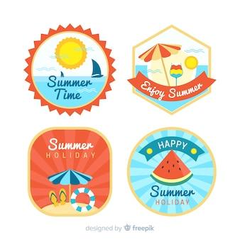 夏のバッジコレクション