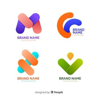 Абстрактная коллекция логотипов