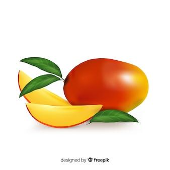 リアルなマンゴーの背景