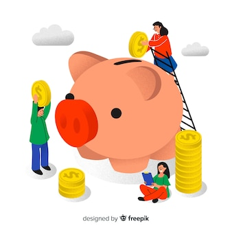 お金を節約するコンセプト