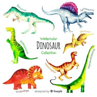 水彩恐竜コレクション