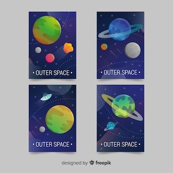 Градиентные космические фоны